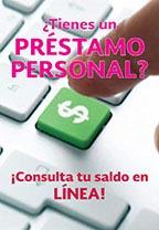 Consulta en línea saldo de présatamos personales